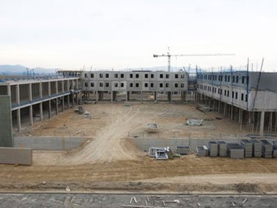 accidente obra nueva cárcel de Figueres