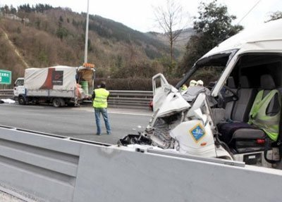 accidente laboral a 8 donostia