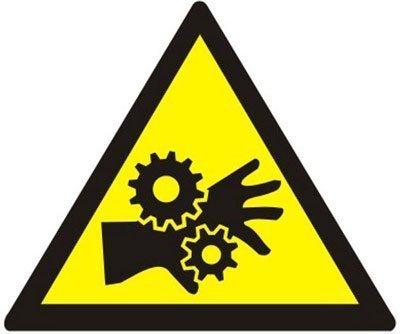 riesgo atrapamiento maquinaria