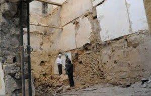 accidente de trabajo desplome muro