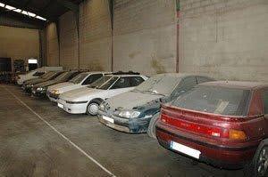 depósito de vehículos