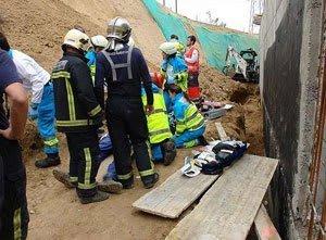 accidentes laborales españa 2010
