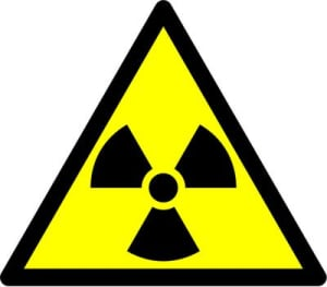 senal radiaciones ionizantes