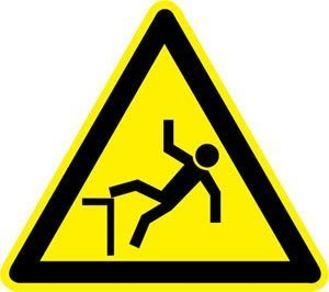 riesgo caída altura