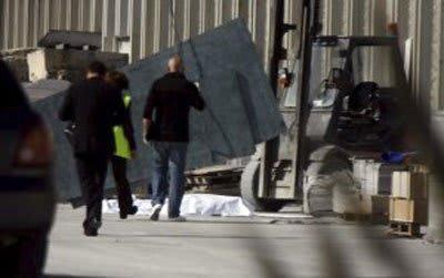 accidente laboral en Romonoso