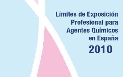 reglamento límites de exposición profesional 2010