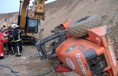 accidente excavadora almeria