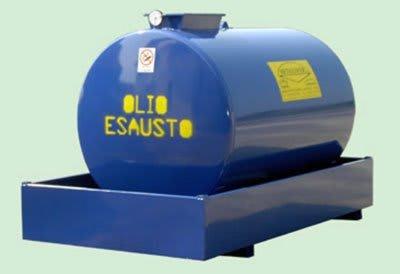 ejemplo de contenedor de aceites usados