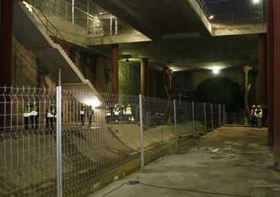 accidente linea 4 metro madrid