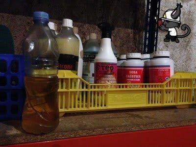 mal etiquetado productos químicos