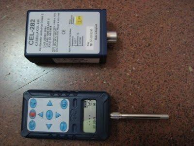 sonómetro y dosímetro