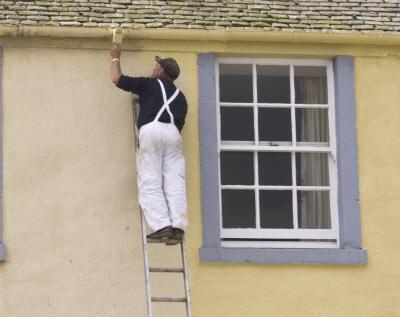 riesgos trabajos con escaleras