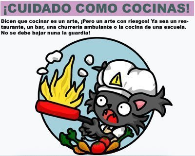 Safety cook