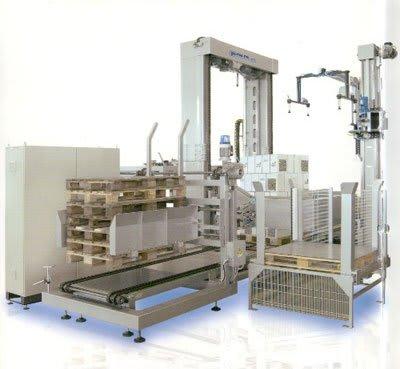 ejemplo de máquina paletizadora