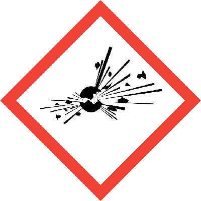 senal riesgo explosion