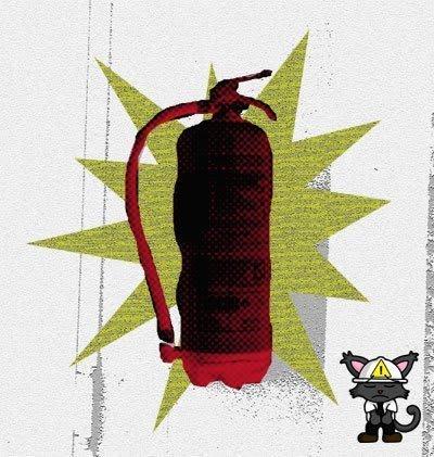 extintor explota
