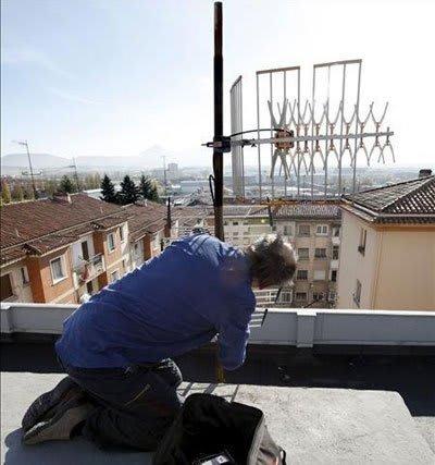 riesgos instalación de antenas