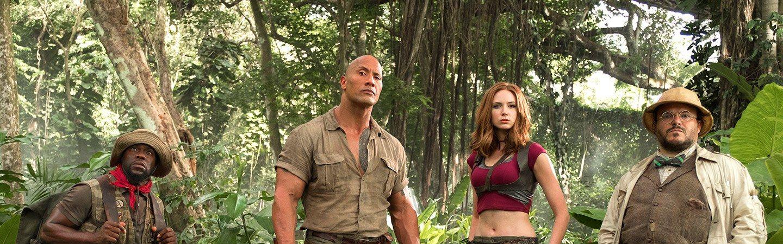 The Rock, Jack Black, Kevin Hart, and Karen Gillan all to star in new Jumanji movie