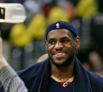 Workout and eat like superstar Lebron James