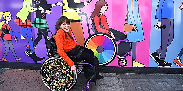 Izzy, an Irish Wheelchair Art Initiative, is on a Roll