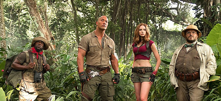 The Rock, Jack Black, Kevin Hart, and Karen Gillan all to star in new Jumanji movie