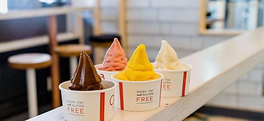 Frozen yogurt: an oldie but goodie