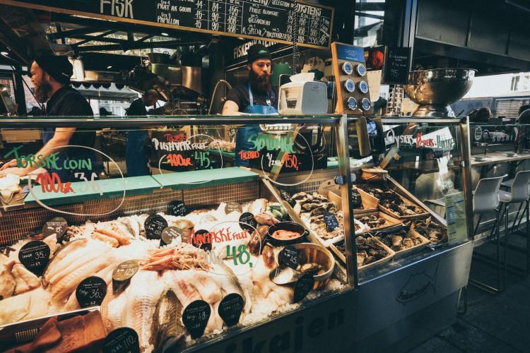 Seafood in Hamburg 🐡