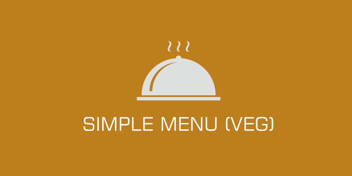 Simple-Menu-Veg