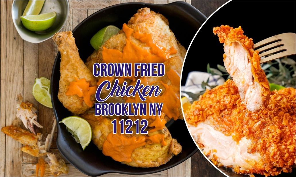crown fried chicken brooklyn ny 11212
