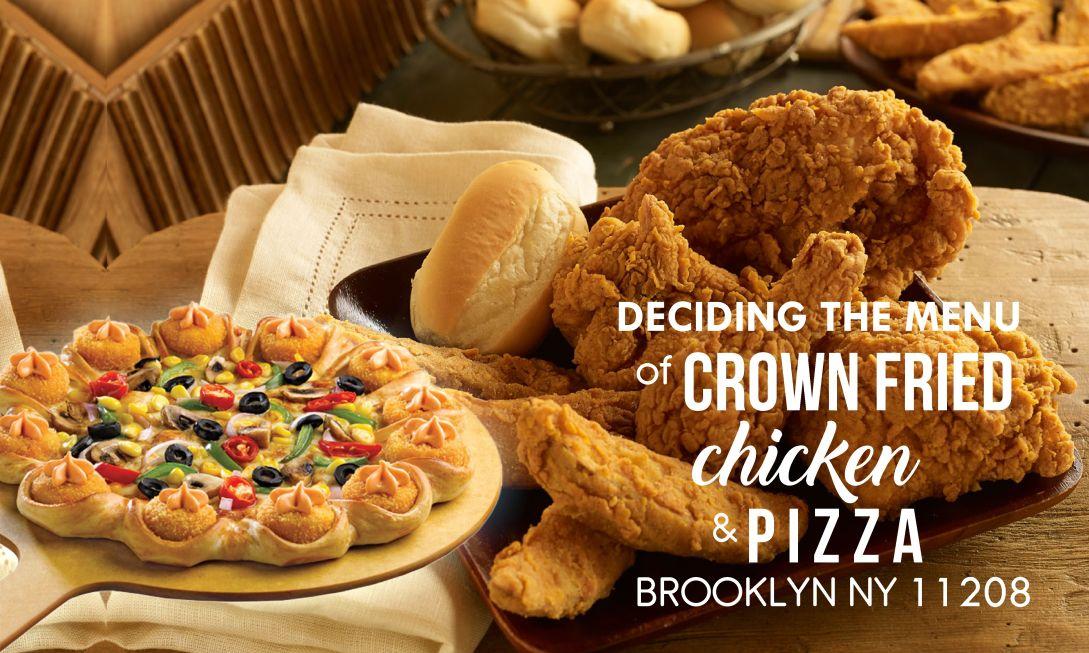 crown fried chicken & pizza brooklyn