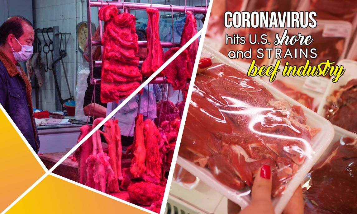 Coronavirus Hits U.S. Shore And Strains Beef Industries