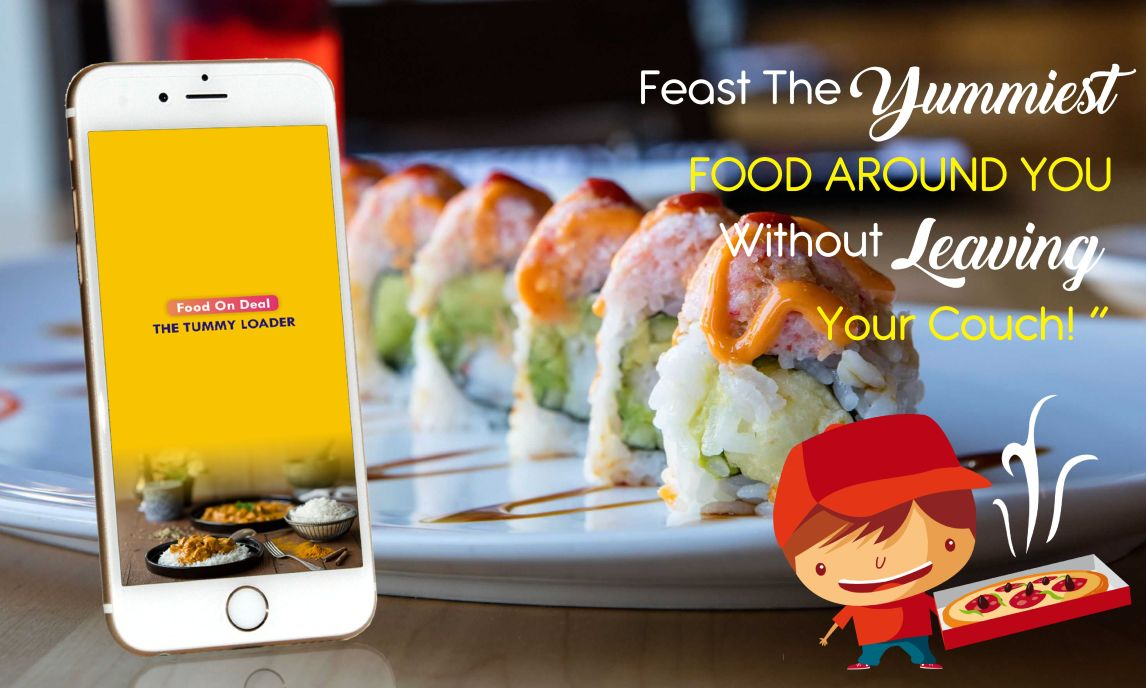 feast the yummiest food around you without leaving your couchl
