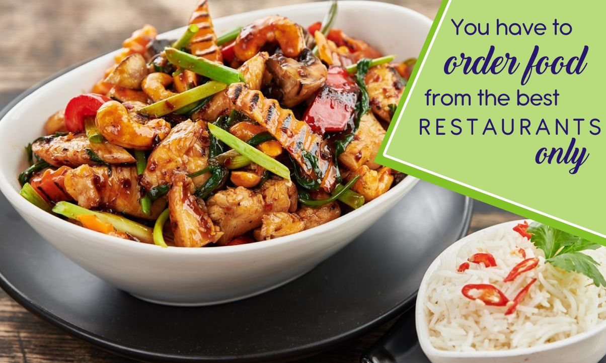 order food from the best restaurants