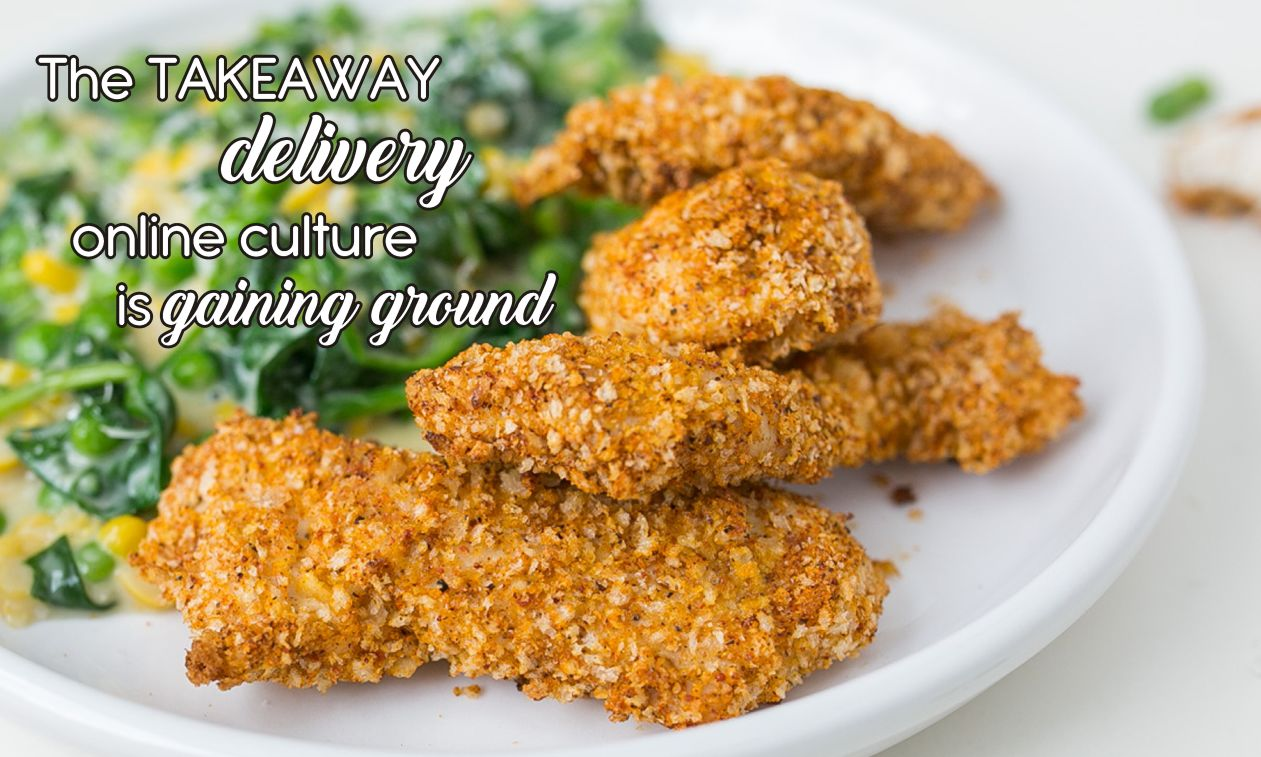 takeway delivery online culture gaining ground