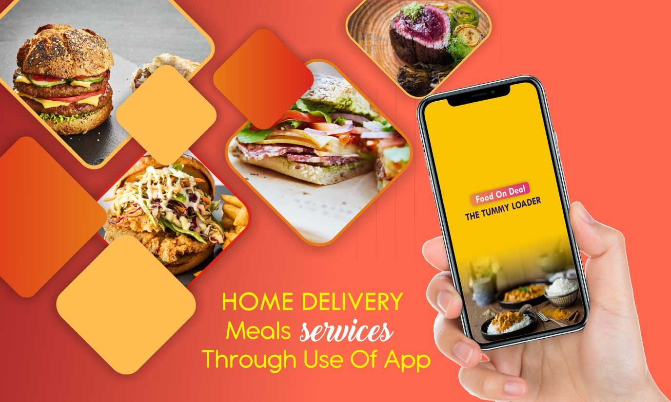 Home Delivery Meals Services through use of app