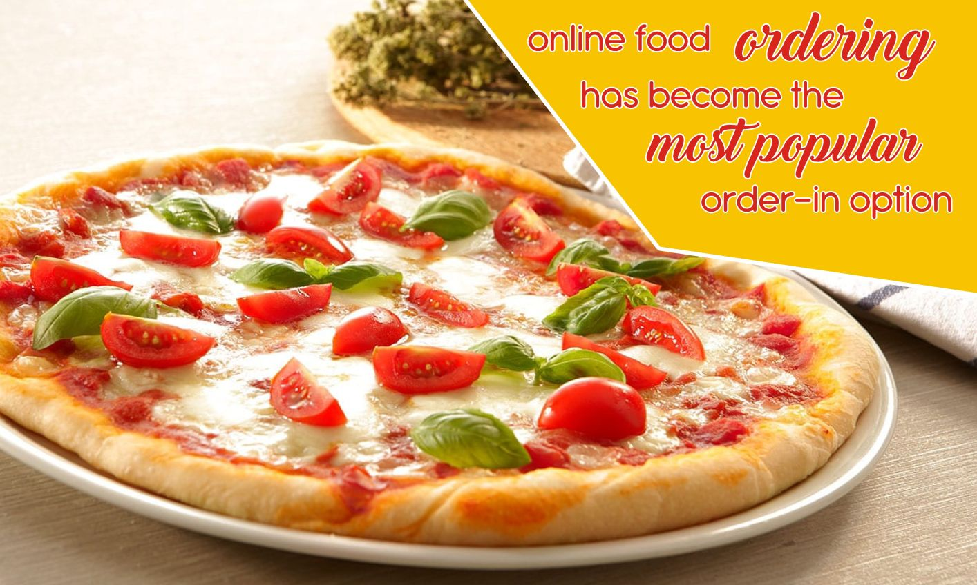 online food ordering has become the most popular order in option