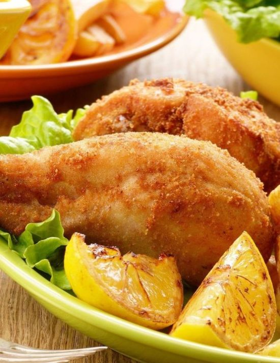 lemon crown fried chicken