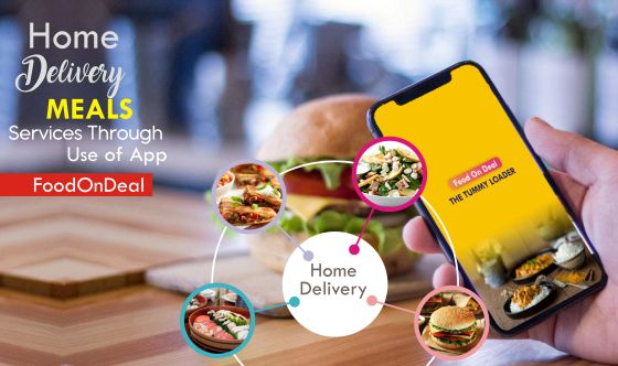 Hassle-Free Pick Up And Delivery Of Your Fancied Food From Your Favorite Restaurants By FoodOnDeal