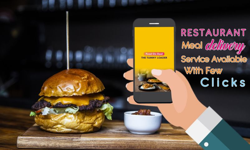 restaurant meal delivery service available with few clicks