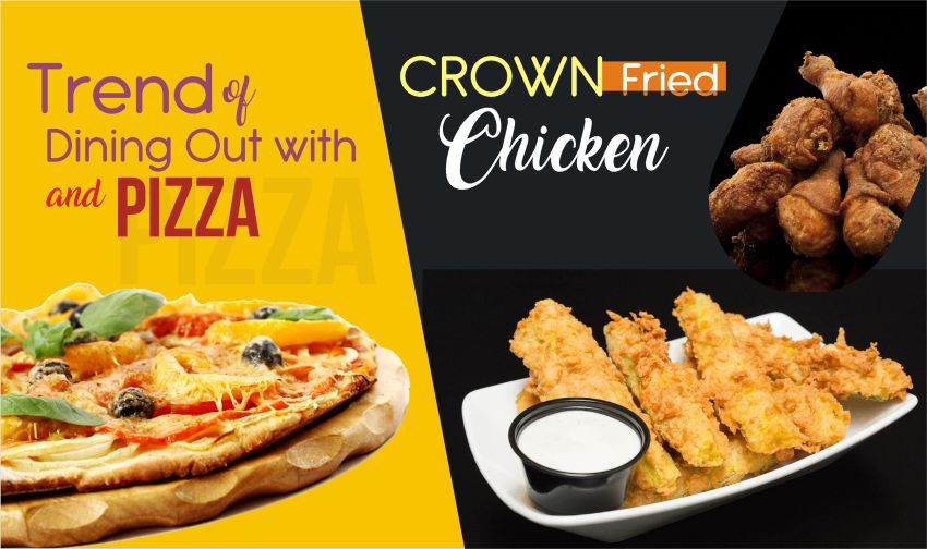 crown fried chicken places to eat near me