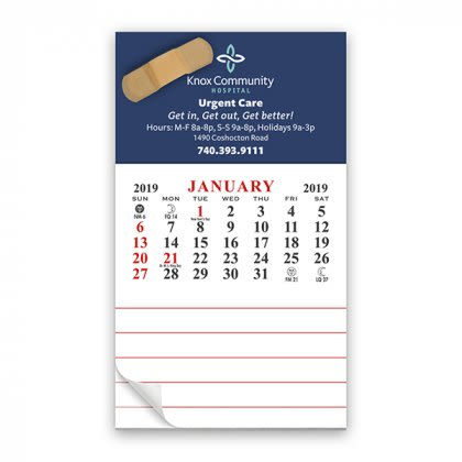 Business Card Promotional Office Magnet Calendar Personalized Magnet