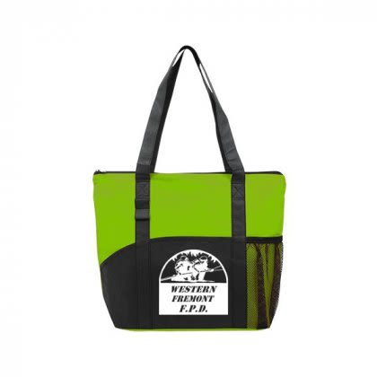 Custom Reusable Tote Bags Poly Pro Pocket Tote Bag With Logo Prints