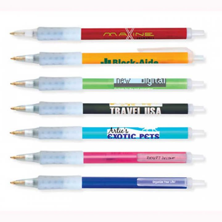 fecf718b9d3 Promotional BIC Pens with Rubber Grips