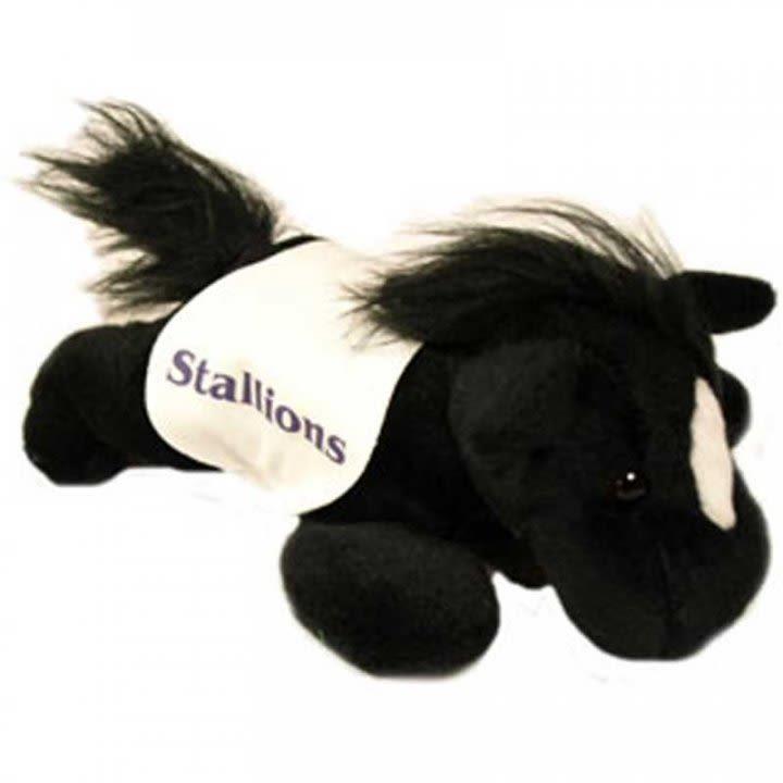Custom Imprinted Black Horse Stuffed Animal Promo Stuffed Animals