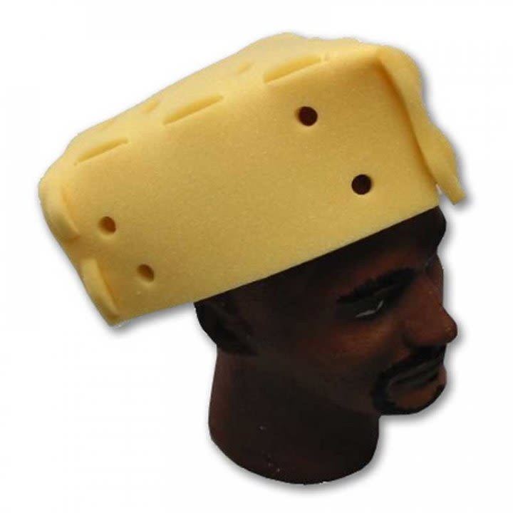 swiss cheese hat