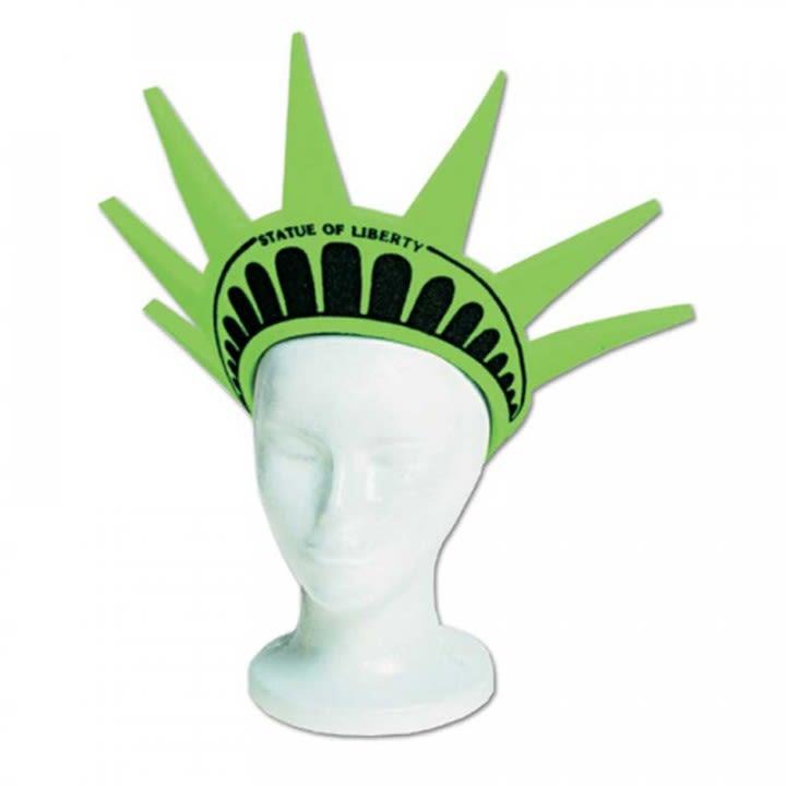 Spirit Liberty Crown Imprinted Visor  e0823e27314