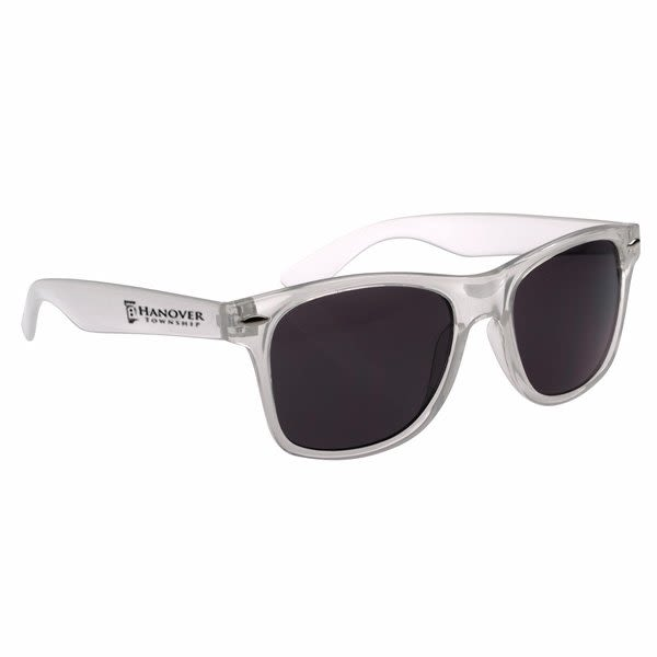 8b1969bfce9bc Custom Company Logo Sunglasses for Promotional Advertising - Frosted White