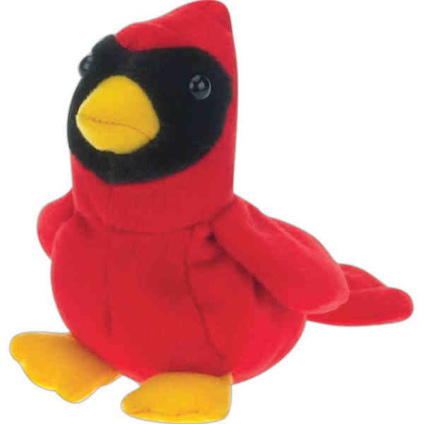 8 Promotional Cardinal Beanie Toy Wholesale Custom Stuffed Animals