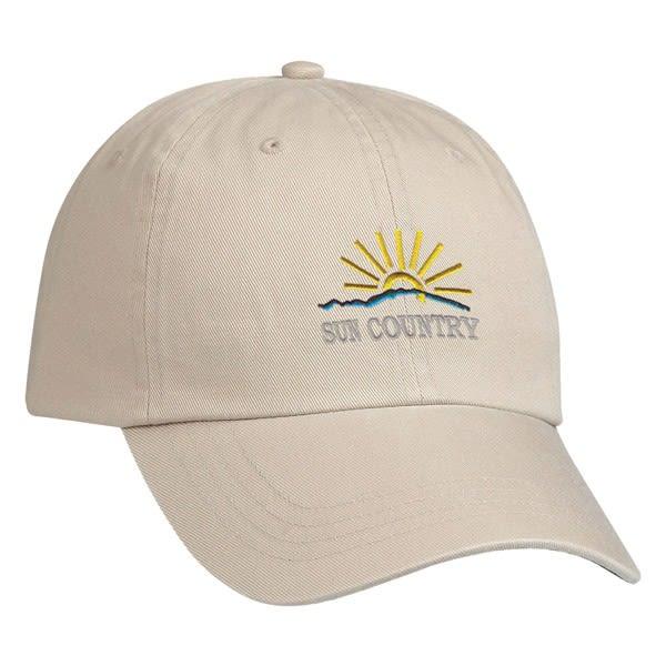 5d57e78b8 Cotton Chino Cap - Embroidered
