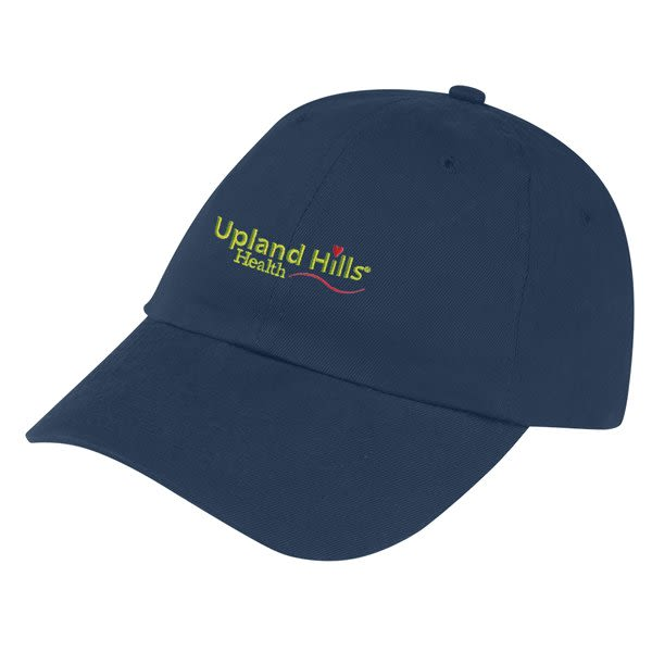 466fa102c07b Cotton Twill Cap Embroidered with Logo